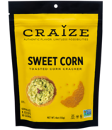 Craize Sweet Corn Toasted Corn Crackers