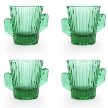 Kikkerland Cactus Shot Glasses 4 Pack