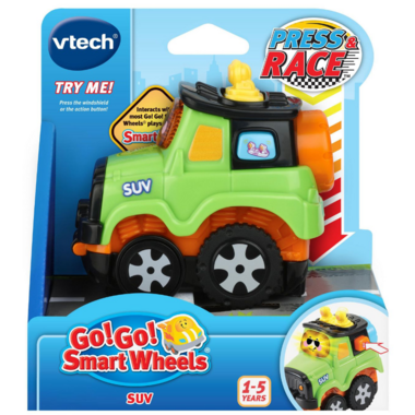 VTech Go! Go! Smart Wheels Press & Race SUV