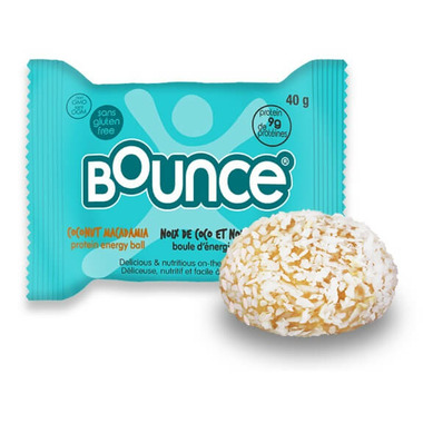 Bounce 100% Natural Protein Balls Coconut Macadamia Protein Bliss