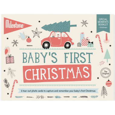 Milestone Baby\'s First Christmas