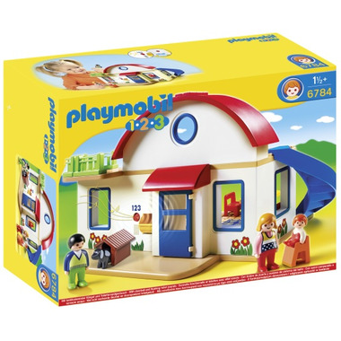 Playmobil 1.2.3 Suburban Home
