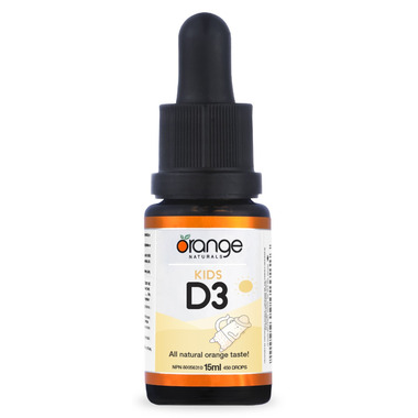 Orange Naturals D3 Drops for Kids