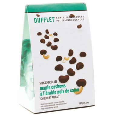 Dufflet Small Indulgences Milk Chocolate Maple Cashews