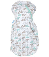 Grosnug Newborn Light Weight Swaddle Grobag Lions & Tigers