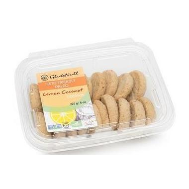 GluteNull Keto Lemon Coconut Cookies