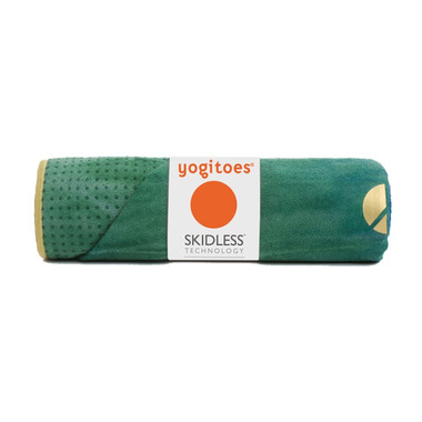 Manduka Yogitoes Skidless Towel Peacock