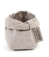 UASHMAMA Paper Bag Piccolo Grey