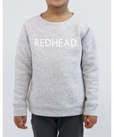BRUNETTE The Label Redhead Crew Pebble Grey