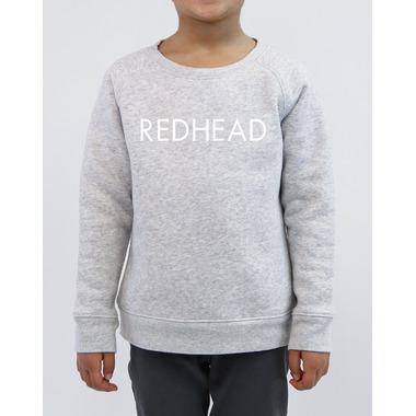 BRUNETTE The Label Redhead Crew Pebble Grey