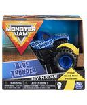 Monster Jam Official Blue Thunder Rev 'N Roar Monster Truck 1:43 Scale