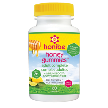 Honibe Honey Gummies Adult Complete Multivitamin with Immune Boost