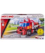 Meccano Junior Rescue Fire Truck