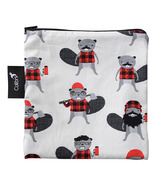 Colibri Reusable Snack Bag Large in Beavers