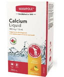 Wampole Calcium Liquid Sugar Free Natural Citrus Flavor