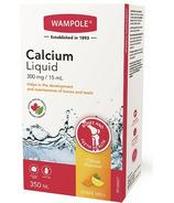 Wampole Calcium Liquid Sugar Free Natural Citrus Flavor