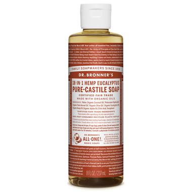 Dr. Bronner\'s Organic Pure Castile Liquid Soap Eucalyptus 8 Oz
