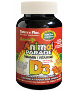 Nature's Plus Animal Parade Vitamin D3 500IU Cherry Chews