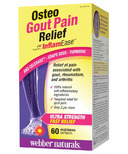 Webber Naturals Osteo Gout Pain Relief with InflamEase