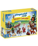 Playmobil 1.2.3 Advent Calendar Christmas in the Forest
