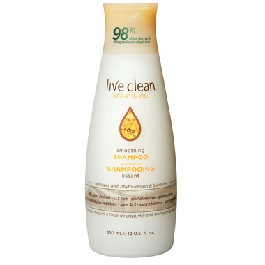 Live Clean Exotic Silk Keratin Oil Smoothing Shampoo