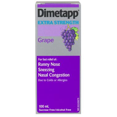 Dimetapp Cold Extra Strength Liquid
