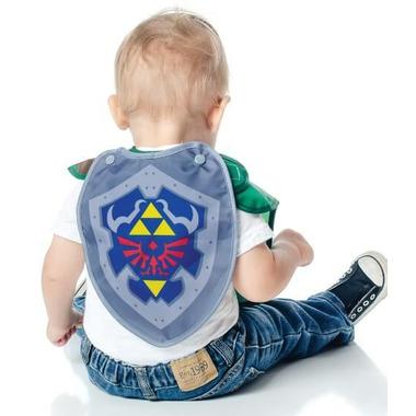 Bumkins Nintendo Caped Superbib Zelda