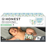 The Honest Company Couches Club Box Turtle Time + Teal Tribal Taille 2