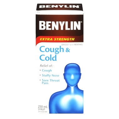 Benylin Extra Strength Cough & Cold Syrup