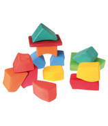 Grimm's Classic Wooden Building Blocks Rainbow