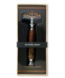 Olivina Safety Razor Bamboo Handle with 5 Blades