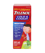 Children's Tylenol Cold & Cough Nighttime Suspension Liquid