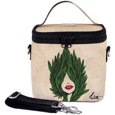 SoYoung X Sabet Raw Linen Evergreen Large Cooler Bag