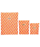 BeeBAGZ Beeswax Bags Starter Pack Orange