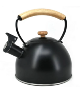 Cafe Culture Lys Whistling Kettle Black