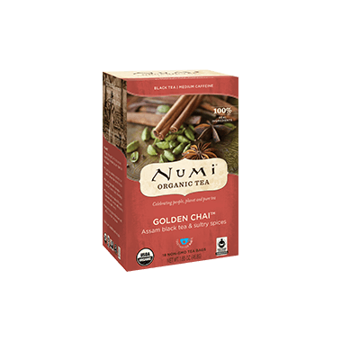 Numi Organic Golden Chai Tea