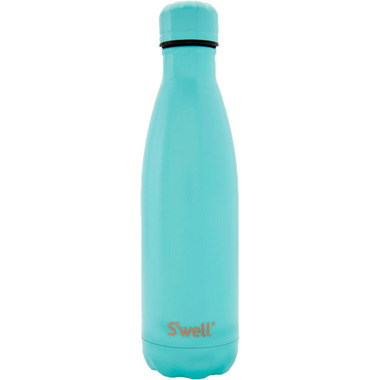 S\'well Satin Collection Water Bottle Turquoise & Matching Cap