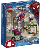 LEGO Marvel Spider-Man The Menace of Mysterio Building Kit