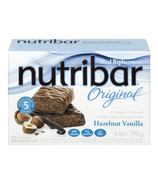 Nutribar Original Hazelnut Vanilla Bars