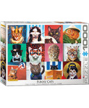 Eurographics Cat Portraits Puzzle
