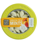 Sencha Naturals Green Tea Mints Tin Tropical Mango