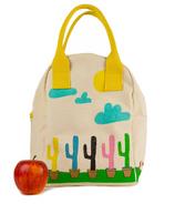 Fluf Cactus Zipper Lunch Bag