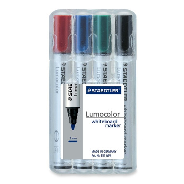 Staedtler Bullet Point Whiteboard Markers
