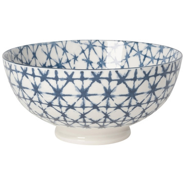 Now Design Bowl Stamped Shibori Serving