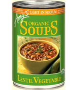 Amy's Organic Lentil Vegetable Soup Reduced Sodium