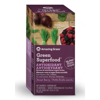 Amazing Grass ORAC Green SuperFood Single Serve Packets