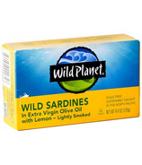 Wild Planet Wild Sardines Extra Virgin Olive Oil Lemon