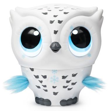 Owleez Flying Baby Owl White