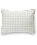 Petit Pehr CheckMate Nursery Pillow Fog