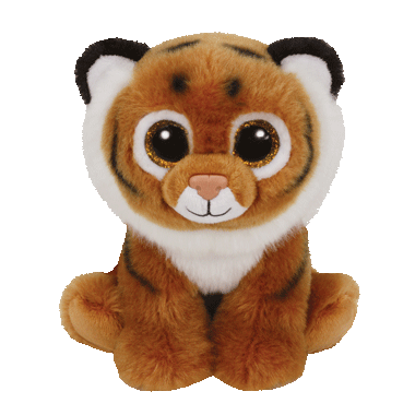 Ty Tiggs The Tiger Beanie Babies Regular